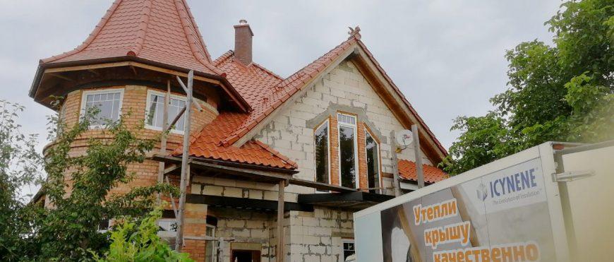 Утепление исторического частного дома – работа подрядчика из Калининграда