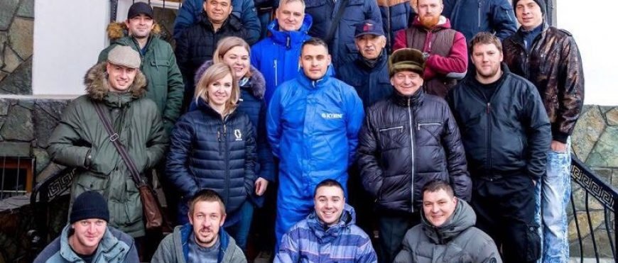 """Обучающий тренинг в Алматы на базе компании """"Монтажтехноснаб""""."""