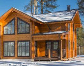 Почему пассивный дом идеальный вариант для зимы?