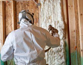 Пеноизоляция - быстрый и долговечный способ утепления вашего дома