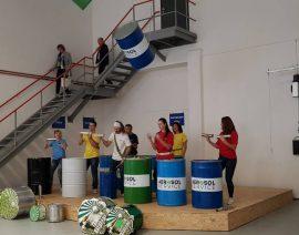 Открытие нового тренингового центра Айсинин в Праге