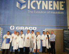 Семинар в тренинг-центре Icynene в Праге
