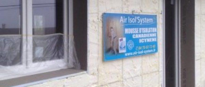 Gevelisolatie door Air Isol'System, Frankrijk