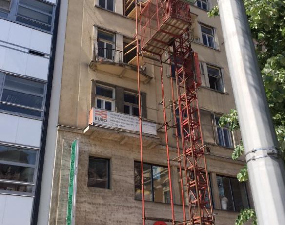 AKCE LERAM BUILDING BRNO – zateplení ploché střechy posledního NP
