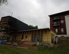 Dokonalé zateplení atypické dřevostavby v Krkonoších produktem Icynene – firma Icyizol