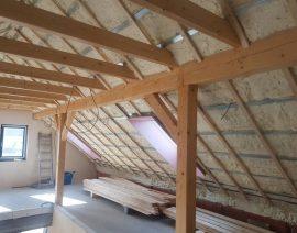 Izolace rodinného domu v Klatovech – firma Rofihas