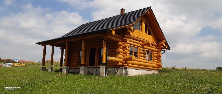 Izolace dřevodomu u Soběslavi