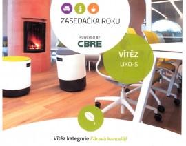 Nejzdravější kanceláří v ČR je naše LIKO-Noe