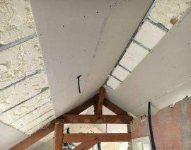 Isolation des combles avec Faux-Plafond