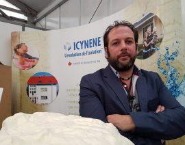 Icynene était présent sur le salon Made in Hainaut