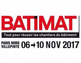 ICYNENE/isOlat France exposeront au salon BATIMAT à Paris du 6 au 10 novembre 2017