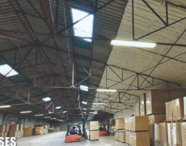 Solution projetée pour entrepôt de stockage