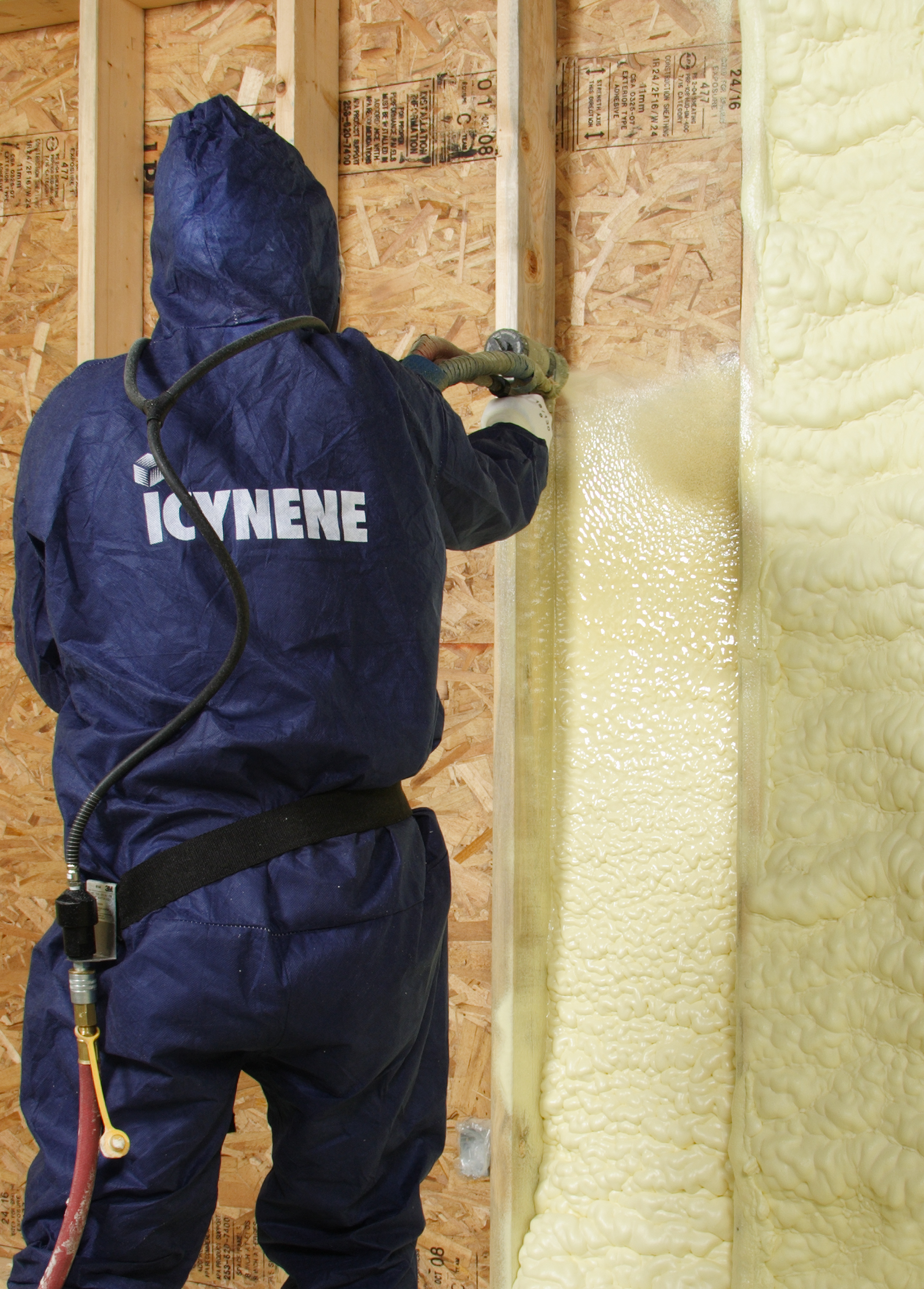 icynene thermal insulation