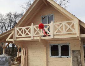 Ocieplenie drewnianego domku letniskowego
