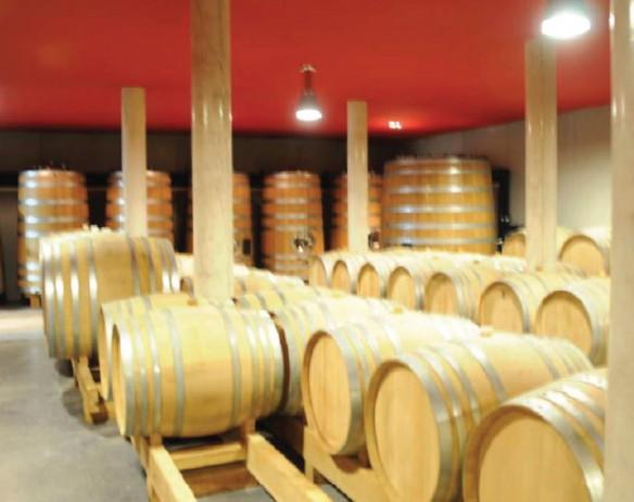 Izolacja piwnicy dla znakomitych win z Sancerre