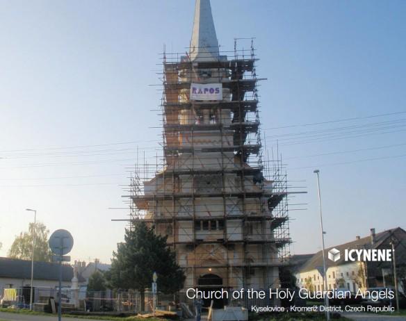 Ocieplenie Kościóła Świętych Aniołów Stróżów
