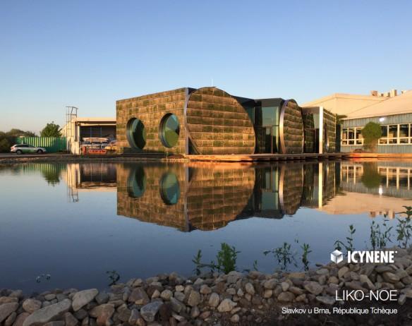 Icynene izoluje samowystarczalny i zeroenergetyczny budynek ekologiczny w Czechach