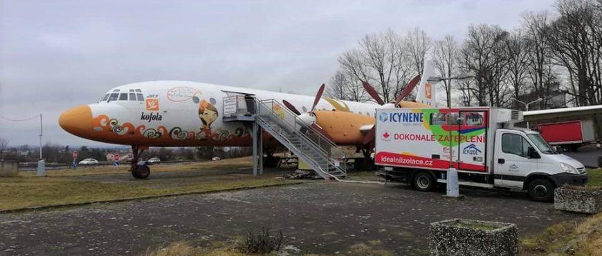 Izolacja termiczna samolotu