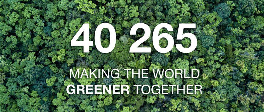 Making the World GREENER together