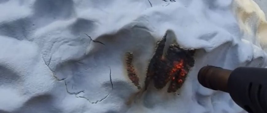 Pianka PUR + powłoka ognioochronna