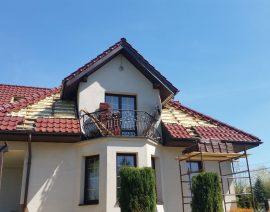 Wymiana ocieplenia dachu