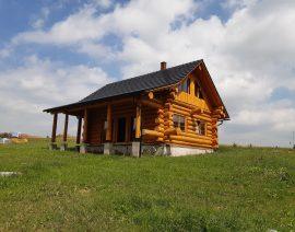 Izolácia drevodomu pri Soběslavi