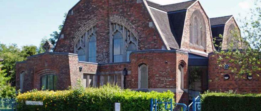 Відновлення склепінчастого даху церкви за допомогою Айсінін